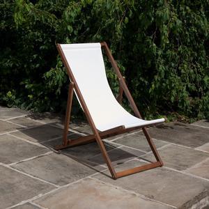 BillyOh Hampton 1 x Reclining Foldable Deck Chair