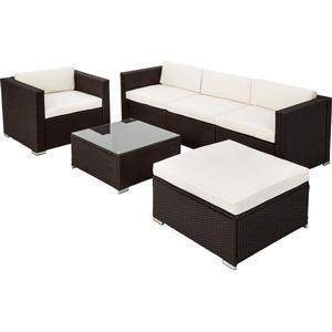 tectake Rattan garden furniture lounge Milan Lounge Group, 1 Table incl. 1 Chairs & 1 Sofashttp://images.pricerunner.com/product/300x300/1703330458/tectake-Rattan-garden-furniture-lounge-Milan-Lounge-Group,-1-Table-incl.-1-Chairs-&-1-Sofas.jpg