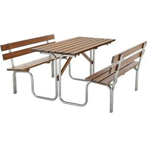 BiGDUG Picnic Table and Bench   780h x 1500w x 1850d mmhttp://images.pricerunner.com/product/300x300/1758410111/BiGDUG-Picnic-Table-and-Bench- -780h-x-1500w-x-1850d-mm.jpg