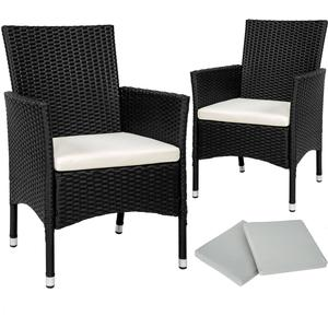 tectake 2 rattan garden chairs + 4 seat covers model 1 Armchairhttp://images.pricerunner.com/product/300x300/1788751507/tectake-2-rattan-garden-chairs-+-4-seat-covers-model-1-Armchair.jpg
