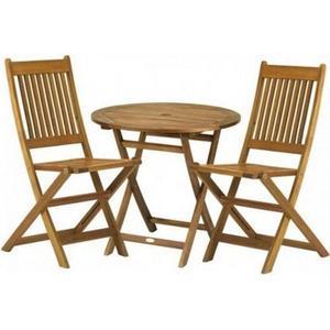 York Bistro Set with Manhattan Folding Chairs