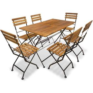 vidaXL 43732 Dining Group, 1 Table inkcl. 6 Chairshttp://images.pricerunner.com/product/300x300/1844974480/vidaXL-43732-Dining-Group,-1-Table-inkcl.-6-Chairs.jpg
