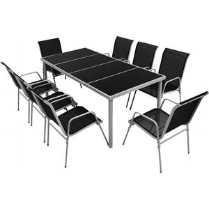 vidaXL 43306 Dining Group, 1 Table inkcl. 8 Chairshttp://images.pricerunner.com/product/300x300/1855398295/vidaXL-43306-Dining-Group,-1-Table-inkcl.-8-Chairs.jpg