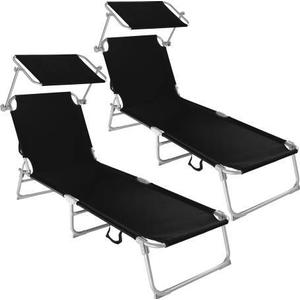 tectake 2 Sun loungers with sun shade Sunbedhttp://images.pricerunner.com/product/300x300/1871290484/tectake-2-Sun-loungers-with-sun-shade-Sunbed.jpg